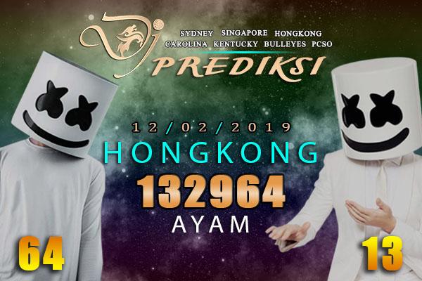 Prediksi Togel HONGKONG 12 Februari 2019 Hari Selasa