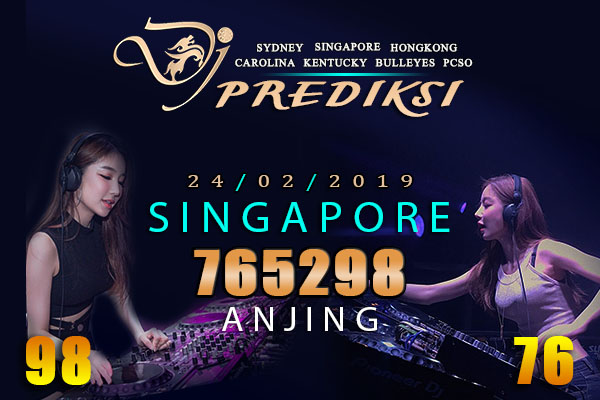 Prediksi Togel SINGAPORE 24 Februari 2019 Hari Minggu