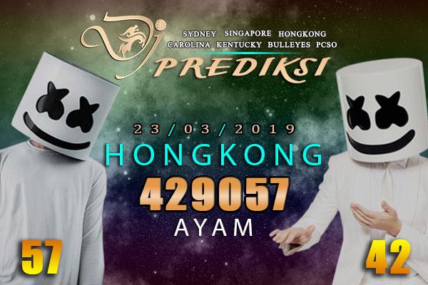 Prediksi Togel HONGKONG 23 Maret 2019 Hari Sabtu