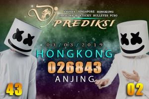 Prediksi Togel HONGKONG 3 Maret 2019 Hari Minggu