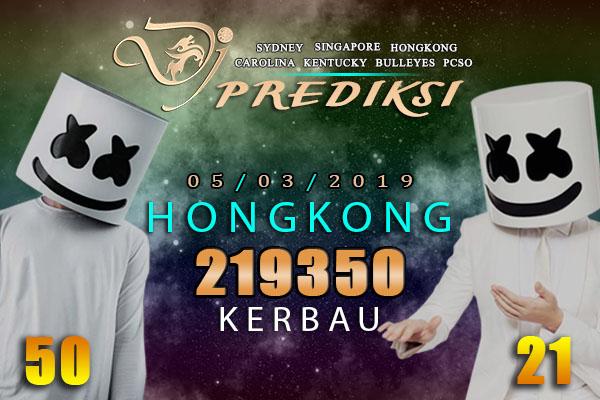 Prediksi Togel HONGKONG 5 Maret 2019 Hari Selasa