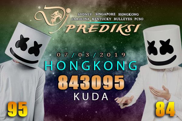Prediksi Togel HONGKONG 7 Maret 2019 Hari Kamis