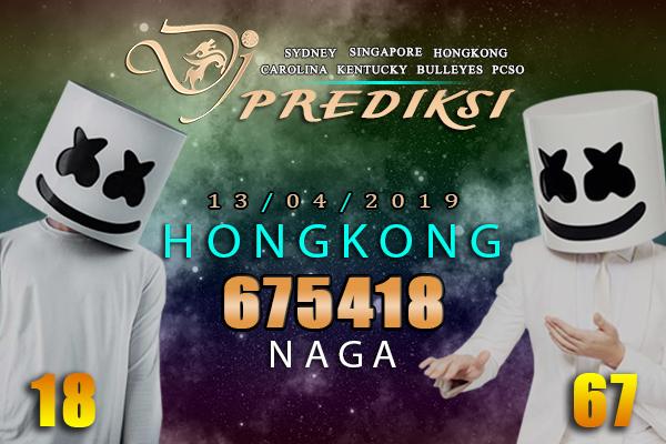 Prediksi Togel HONGKONG 13 April 2019 Hari Sabtu
