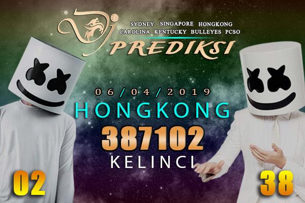 Prediksi Togel HONGKONG 6 April 2019 Hari Sabtu