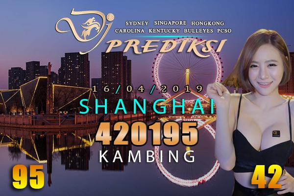 Prediksi Togel SHANGHAI 16 April 2019 Hari Selasa