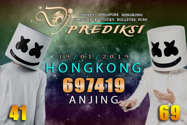 Prediksi Togel HONGKONG 19 Januari 2019 Hari Sabtu