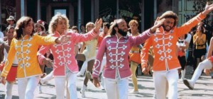 The Bee Gees and Peter Frampton were cast as a Beatles-like group in Sgt. Pepper's Lonely Hearts Club Band