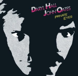 The Private Eyes album cover, 1981.