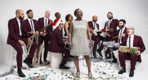 Sharon Jones and the Dap Kings opened for Hall & Oates at the Hollywood Casino Amphitheater on July 22, 2016.