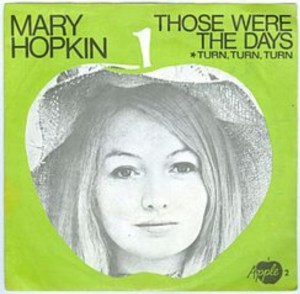 Mary Hopkin's #2 smash was a big hit late in the year 1968.