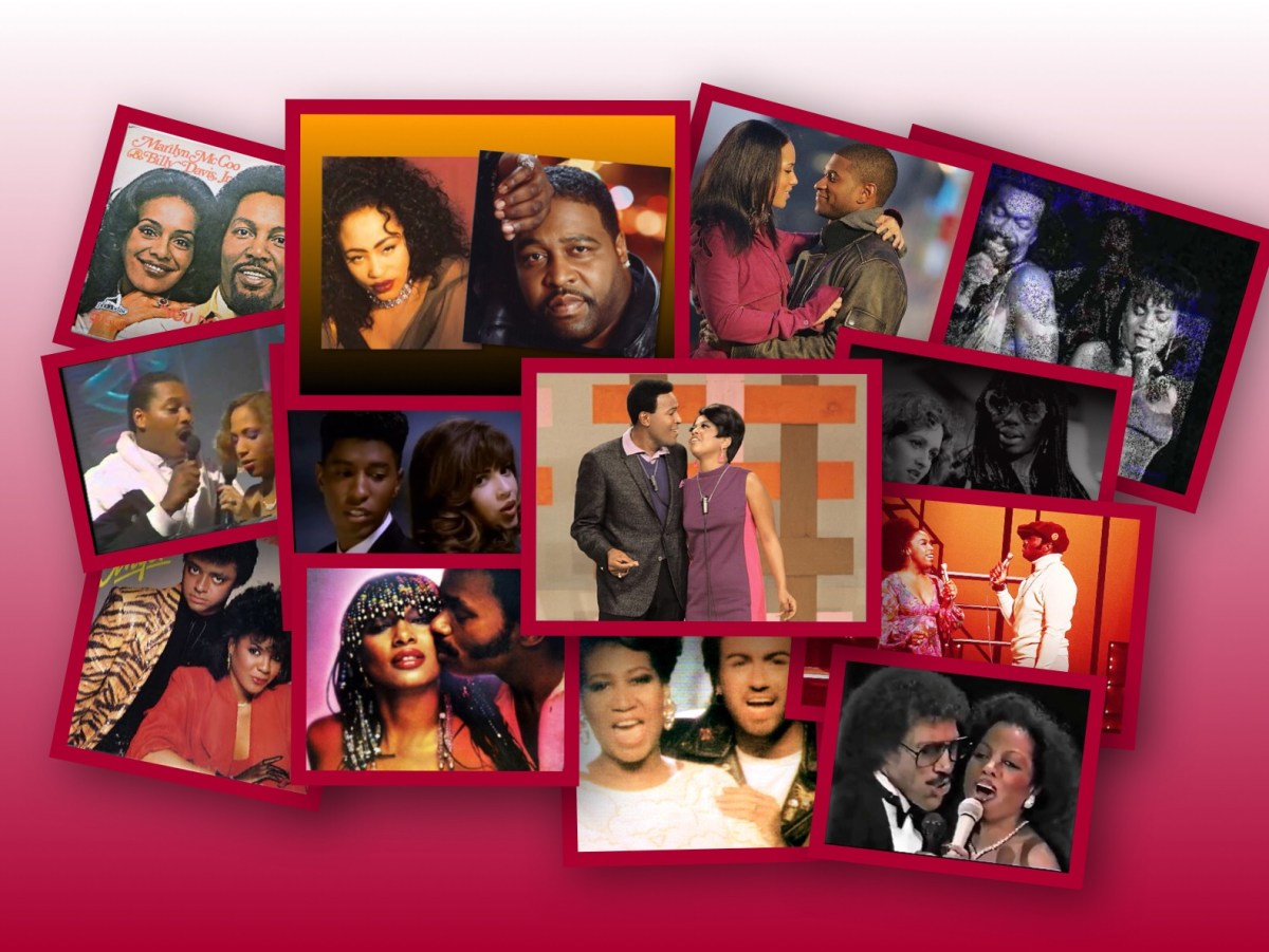 Black History: The Best Romantic R&B Songs By Male-Female Duets (since 1965)