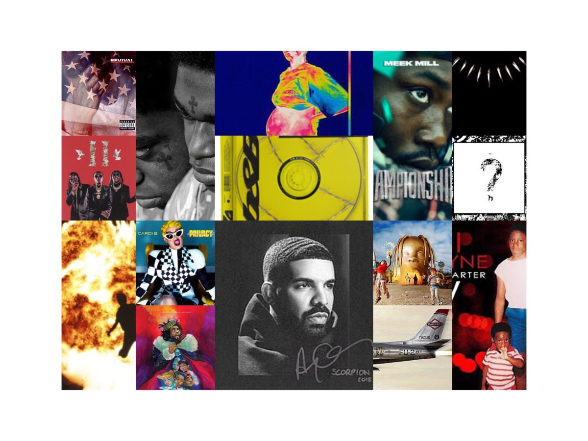 Eighteen for '18:  The eighteen hip-hop albums that hit No. 1 in 2018...and their instant legacies.