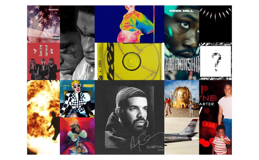Eighteen for '18:  The eighteen hip-hop albums that hit No. 1 in 2018…and their instant legacies.