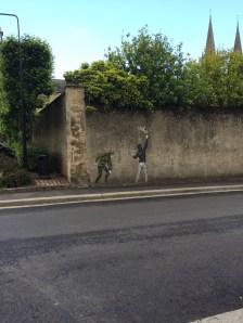 Banksy in Bayeux