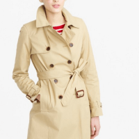 Spring with a Trench