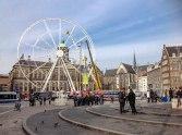 Ferris wheel outside Royal Palace Amsterdam - Copy