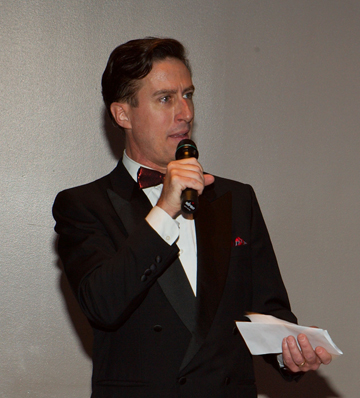 DJ Scott welcomes guests to Bass Performance Hall