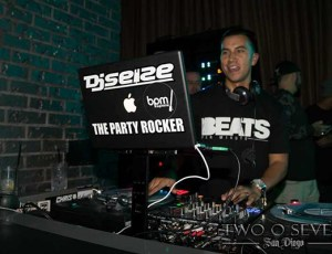 DJ Seize @ Hard Rock Hotel (San Diego, CA)
