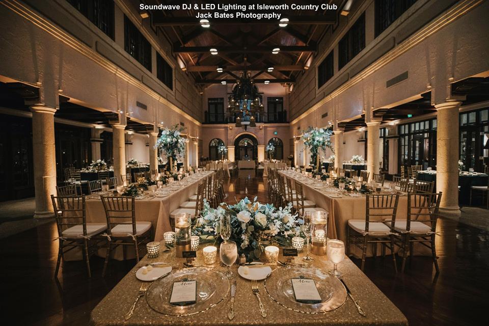 Isleworth Country Club Soundwave Entertainment Wedding Djs Led Lighting Design Orlando Djs