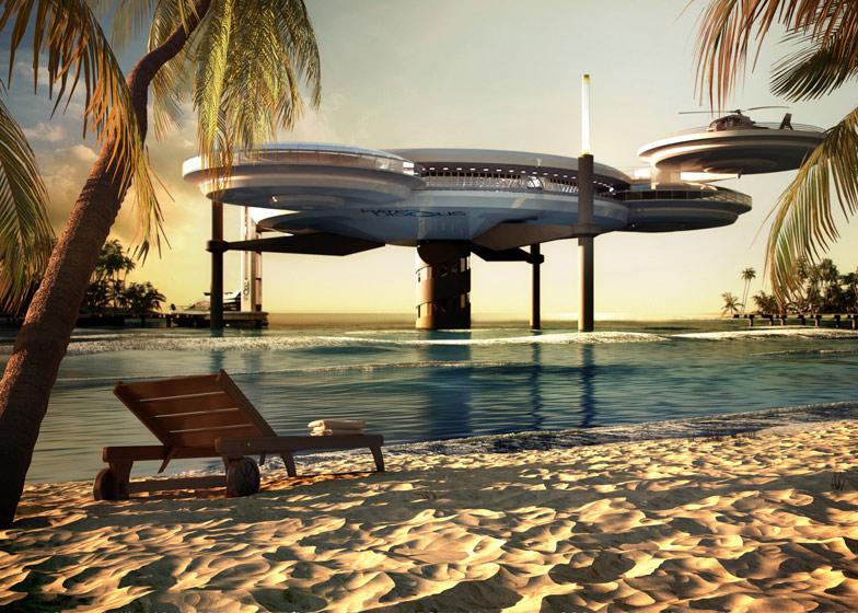 Water Discus Underwater Hotel By Deep Ocean Technology