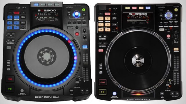 Denon's most recent media players - the SC2900 (left) and SC3900 (right)