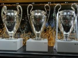 European cup trophies