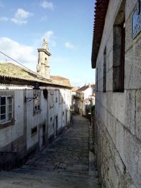 Narrow winding street