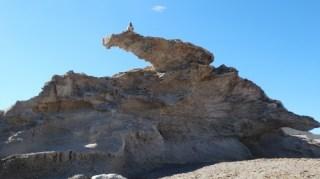 At Fossil dunes in Los Escullos