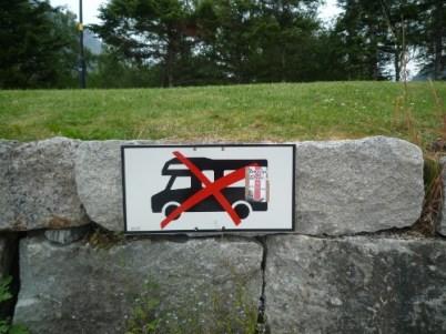 Not welcome in Eidfjord!