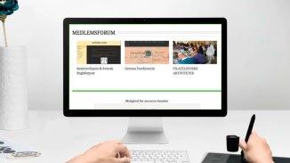'MEDLEMSFORUM' - medlemmer har her mulighed for, at gøre reklame for filatelistiske personlige hjemmesider eller efterlyse materiale, sælge og købe.
