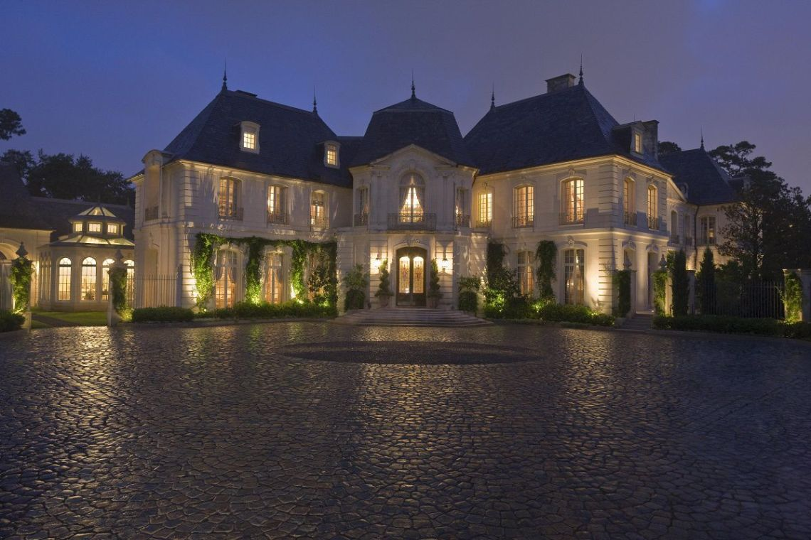 French Chateau In Texas Kara Childress