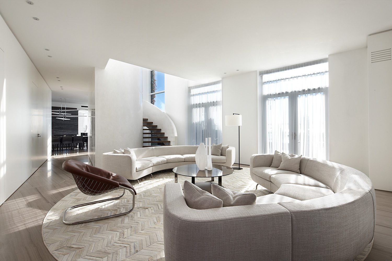 Contemporary Penthouse Design Studio Munge Dk Decor
