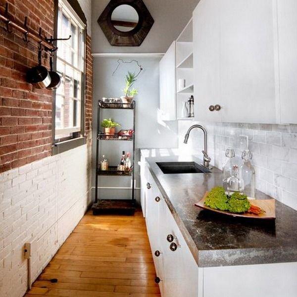 Дизайн кухни длинной фото: 50 фото красивых интерьеров ...