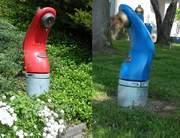 Wasser Hydranten blau 20151030
