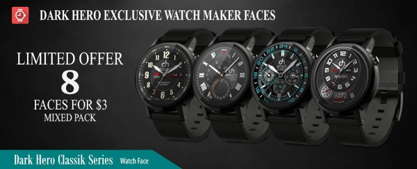 Limited Time Bundle: 8 faces for $2.99! - watch face for ...