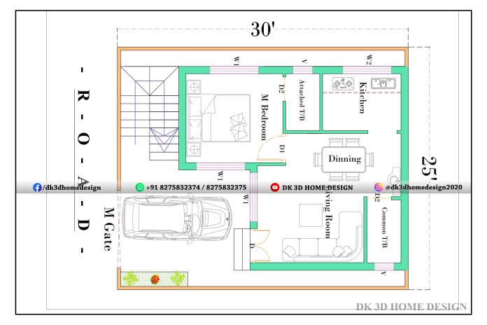 750 sq ft house plans