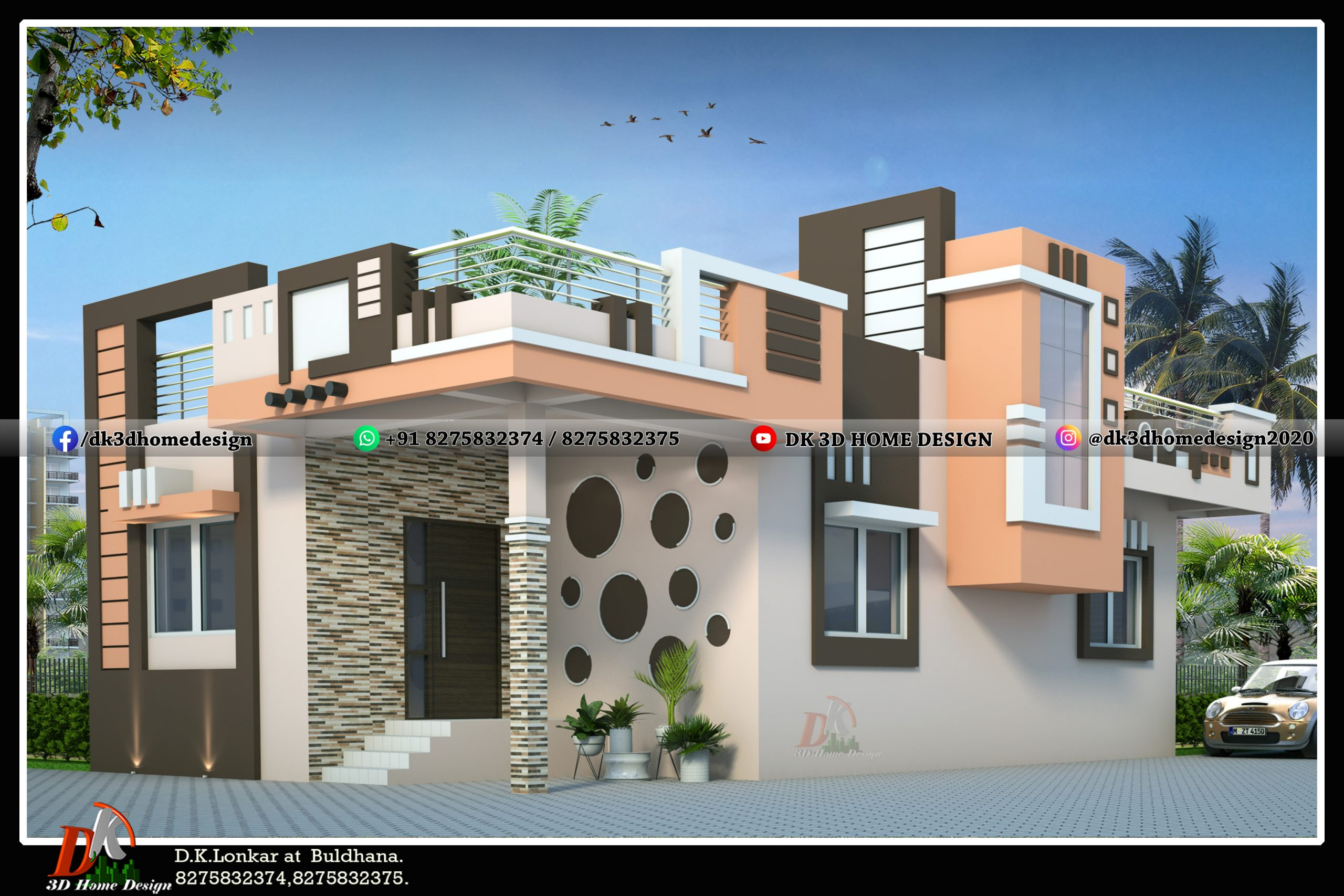 home front elevation