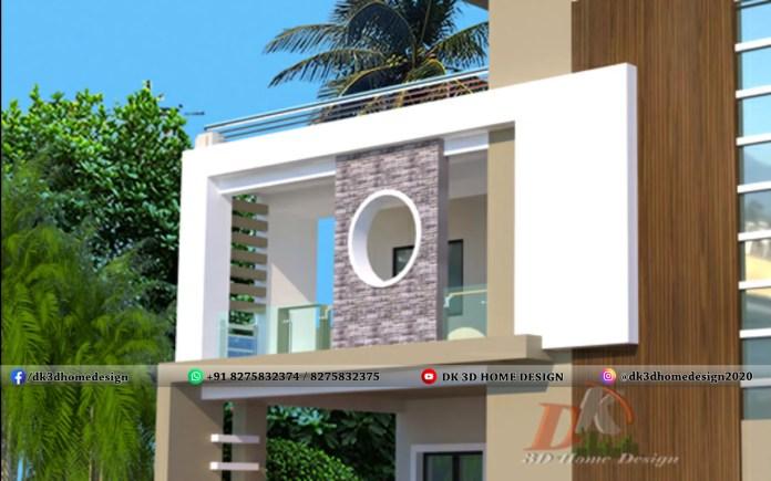 Modern style balcony