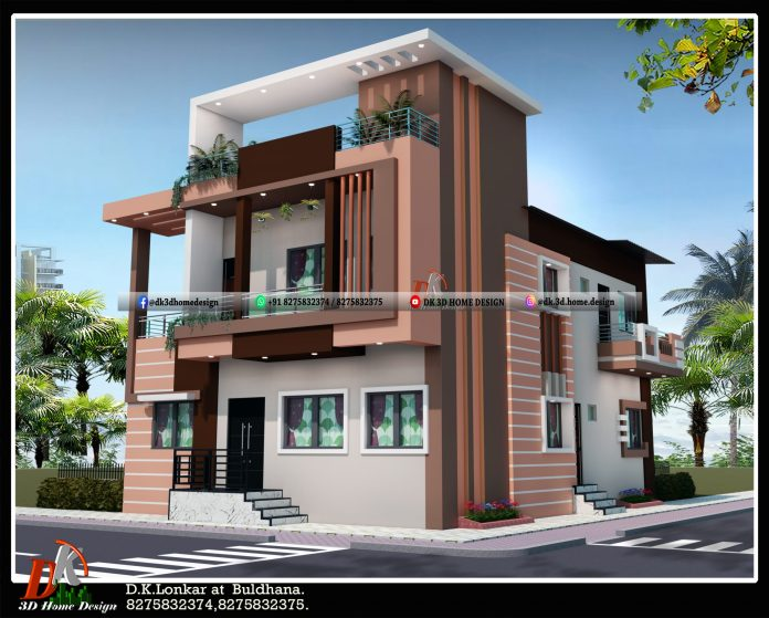 two floor house design 30x40