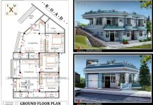 2 story house plan and design