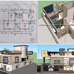 150 sqm house plan and design 2 bhk