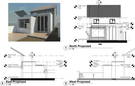 We moved the project data into a BIM package and modelled it to create 3D and 2D construction information and documentation.