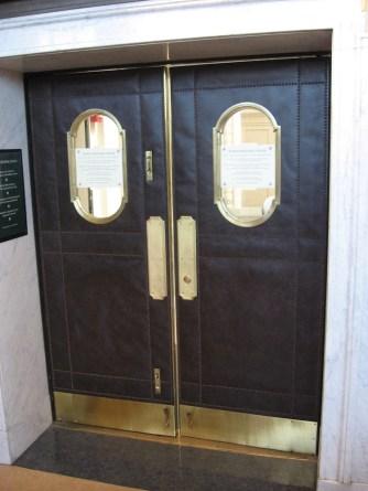 W08 05705 RELEATHERED DOORS