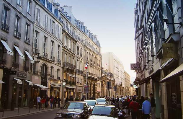 In 1997 I was living at the epicenter of world fashion in Paris, next door to Hermes.