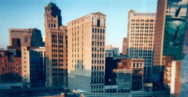 detroit skyline photo by D.K. Brainard