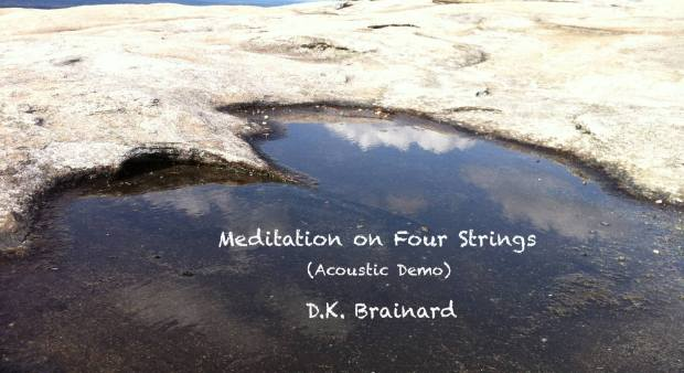 Check out this short new meditative guitar piece by D.K. Brainard