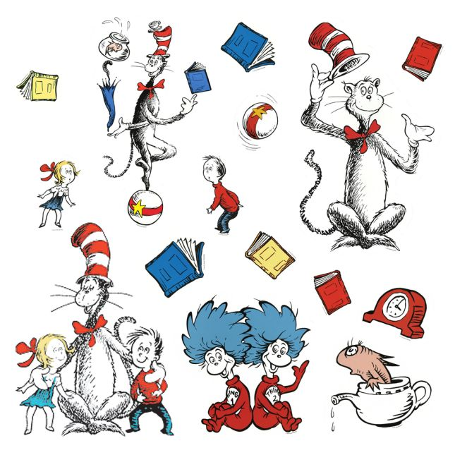 Dr Seuss Bulletin Board Display Characters