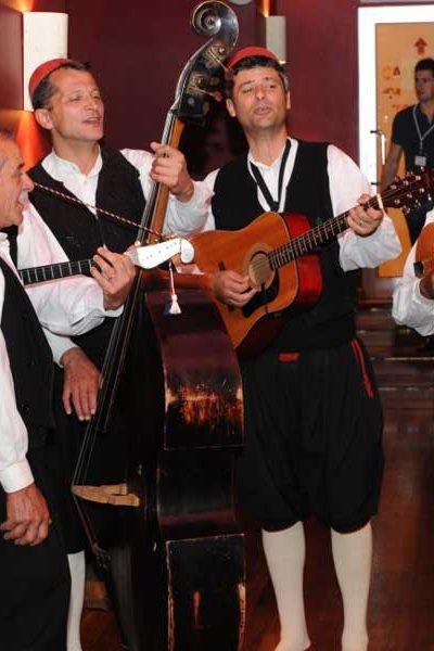 Traditional folkloric singers Dubrovnik Konavle
