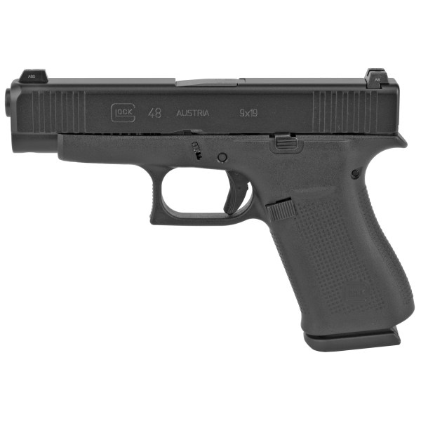 Glock 48 9mm Black Glock Night Sights Slimline · PA4850701 ...