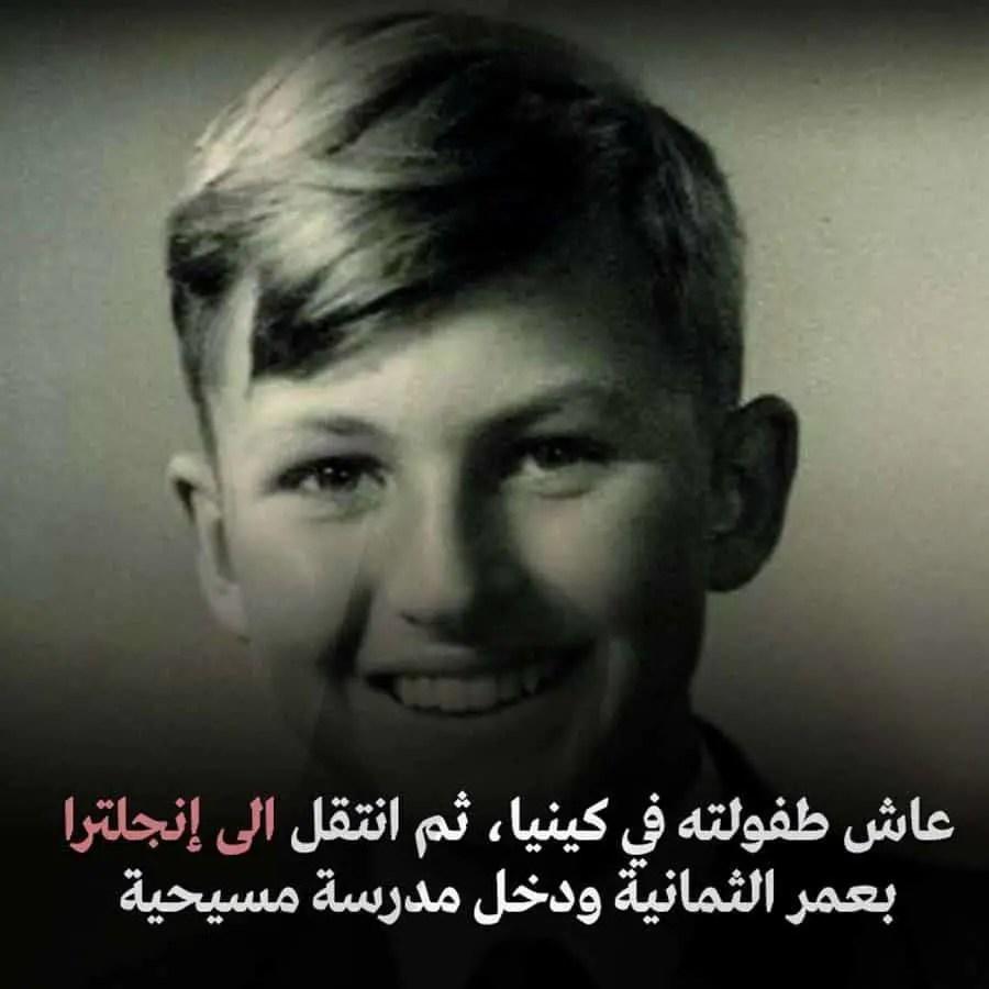 ريتشارد دوكنز طفولة